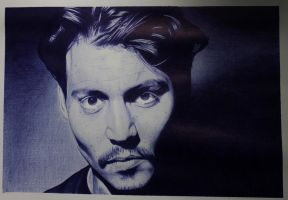 Johnny Depp by dark-gates
