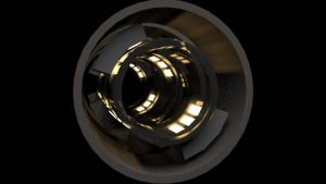 Light Speed Boost Core Prototype (3Ds Max) by jeoong94