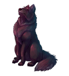 wolf commission by LittleWhiteWolfAngel