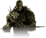 Swamp Thing Injustice 2 Portrait PNG by DarkVoidPictures