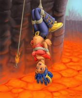 Lava Diver by DrewGardner