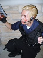 Wesker cosplay by Otakuasylum