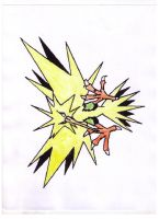 Zapdos by Darkfire-Blaze