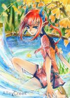 ACEO: Ginko by AlleyCreek