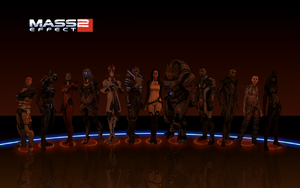 Mass Effect 2 Team of 12 by BlackSheep64