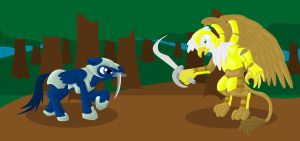The duel by The-Laughing-Horror