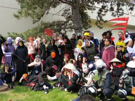 Naruto Group 3 - ACen 2013 by EndOfGreatness