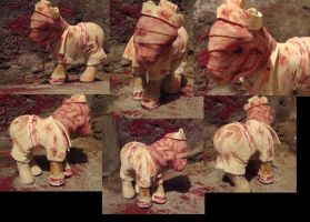 Silent Hill nurse pony by Fenrienne