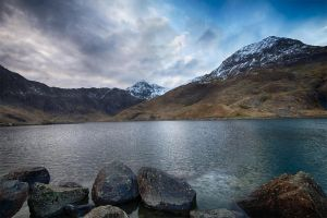 Beyond the lake by CharmingPhotography