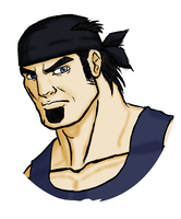Marcus Fenix Portrait by KingdomHeartsKeeper