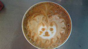 Latte Art: Lion by Evil-elz