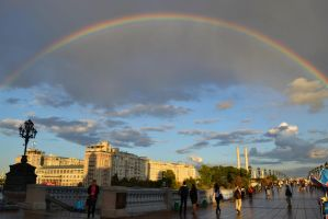Moscow rainbow by VeronaDi