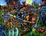 The Legend of Zelda - Battle for Hyrule by SoulStryder210