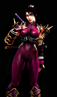 Soul Calibur IV Taki Version 2 by LordHayabusa357