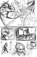 team nine page two roughs by SavvyPanda