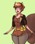 Squirrel Girl 03 by theEyZmaster