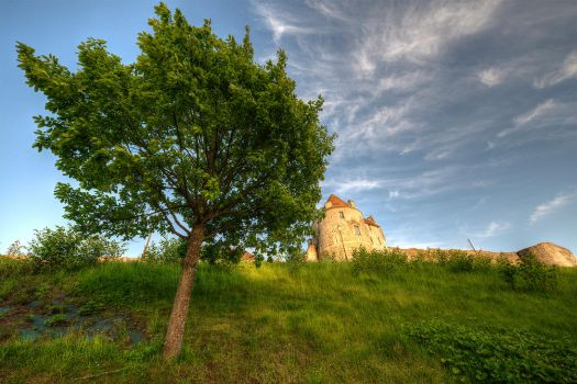 Falaise, Normandy, France by Jean-Baptiste-Faure