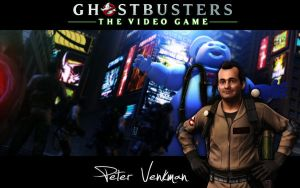Ghostbusters Wallpaper Peter by MartynTranter