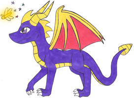 Classic Spyro and Sparx by charlotte199056