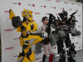 Anime Expo 2012 - Day 3: Transformers Group Shot by hikaridemon