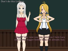 Fairy Tail Bimbofication Apocalypse 5 - 10 by TF-Artist