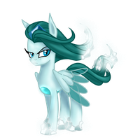 Ice Witch Undine the Staring Glacier by kyle23emma