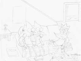 After the Party... (Sketched) by SketchedJDII
