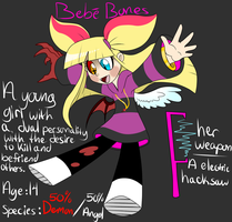 Bebe Bones ref (Please read the description) by ReneesDetermination