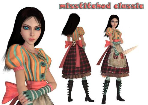 alice misstitched classic by jomic-95