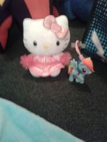 Hello Kitty And Rainbow Dash Light Up Thingy by DrEggmanSticksFan101