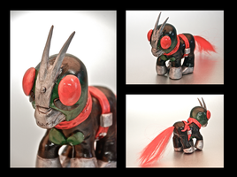 Kamen Rider Pony 2 by EatToast