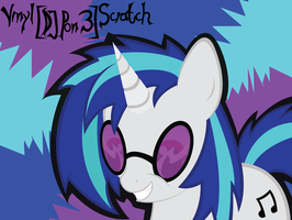 Vinyl Scratch by Wreky