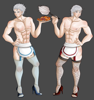 Vergil And Dante Maids by tavithetiger
