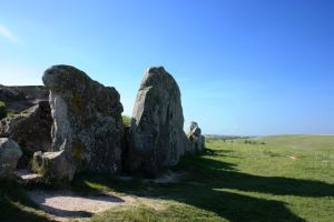 West Kennet Long Barrow by Topaz172