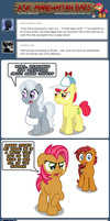 Ask Manehattan Babs #48 by wildtiel