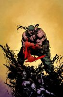 Deathblow Chuckdee3 by SpicerColor