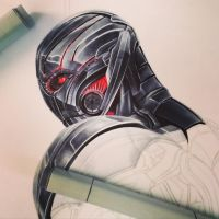 Ultron WIP by smlshin