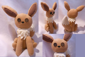 Eevee Plush by FuzzyAliens