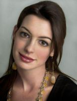 Anne Hathaway by RED-ADAM