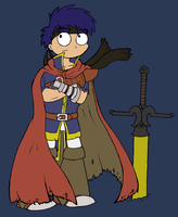 Ike -colour- by Chloemew4ever