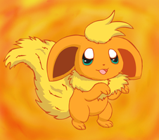Flareon Chibified by pichu90