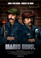 Mario Bros Poster by Elmic-Toboo