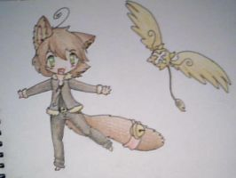 Jessy and Timmy traditional by BakaMichi