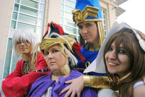 AUSA Ancient Egypt Group by setsuntamew