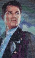 John Barrowman cross stitch by hilsonlover