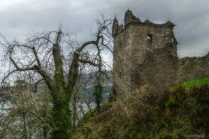Urquhart castle by Estruda