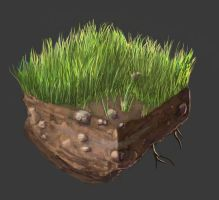 Grass and Soil Tile - Practice by yancur