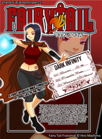 Fairy Tail OC - 'Chandra' Guild Card by dreamchaser21