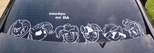 Mane 6 Decal Is Best Pony set by osu4ev