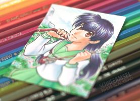 #21 Kagome (ACEO) by SchneeAmsel